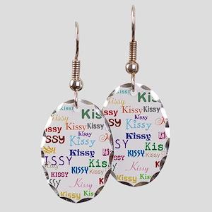 KISSY,KISSY,KISSY,KISSY. RESTOR Earring Oval Charm