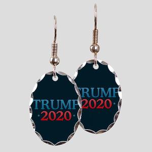 Trump 2020 Earring Oval Charm