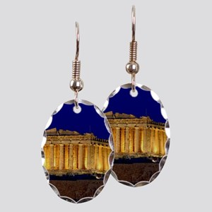 PARTHENON 2 Earring Oval Charm