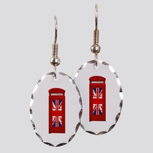 LONDON Professional Photo Earring Oval Charm