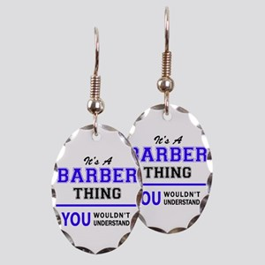 BARBER thing, you wouldn't unde Earring Oval Charm
