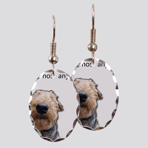 Airedale Terrier Friends Earring