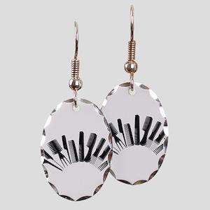 Combs122410 Earring Oval Charm