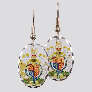 Royal COA of UK Earring