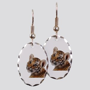 baby tiger Earring