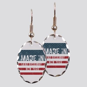 Made in Far Rockaway, New York Earring Oval Charm