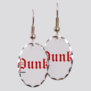 Punk Music Earring Oval Charm