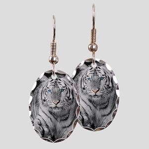 White Tiger Earring