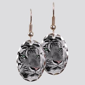 Lazy Tiger Earring