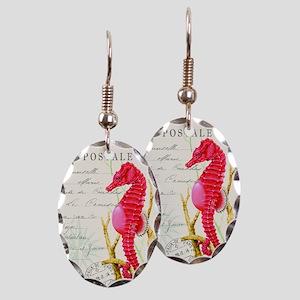 Modern vintage seahorse Earring