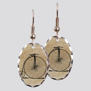 Vintage Penny Farthing Bicycle Earring