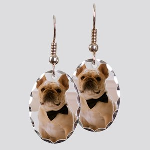 Dressed to the Nines Earring Oval Charm