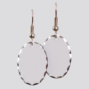 ScienceIsAwesome_white Earring Oval Charm