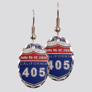 Car-Mageddon Earring Oval Charm