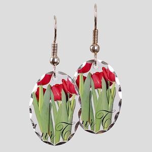 Personalizable Tulips Earring