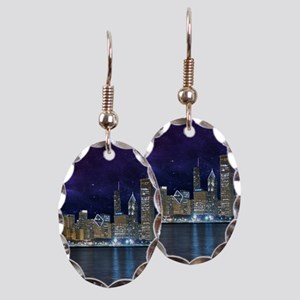 Spacey Chicago Skyline Earring