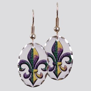 FleurMGbeadsOfBc Earring Oval Charm
