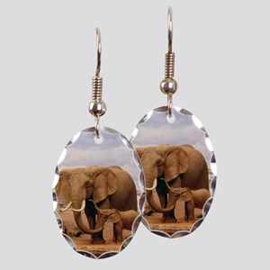 Family Of Elephants Earring