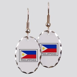 Philippines Earring Oval Charm