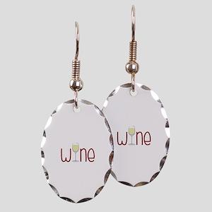 Wine Earring