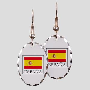 España Earring Oval Charm
