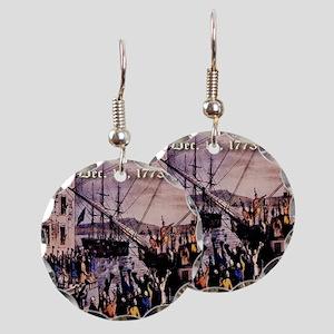 thebostonteaparty_16dec1773 Earring Circle Charm
