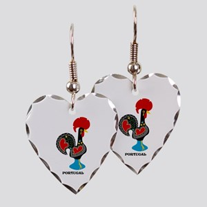 Portuguese Rooster of Luck Earring