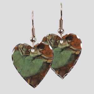 degas put on iphones Earring Heart Charm