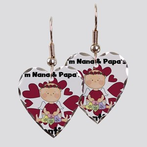 REDNANAPAPAVALENTINEGR Earring Heart Charm