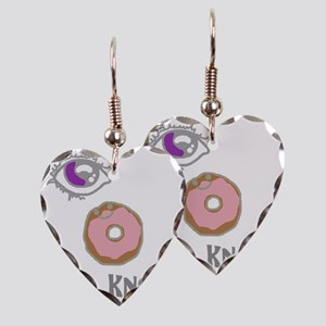 i donut know.1 Earring Heart Charm