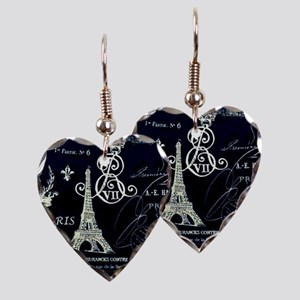 Paris XVIII Earring Heart Charm
