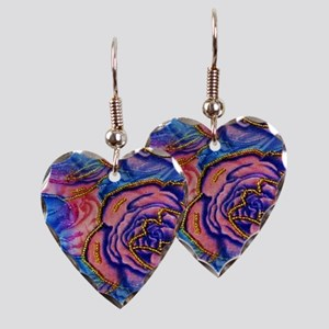 The Velvet Flower Collection Earring Heart Charm