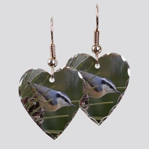 Red Breasted Nuthatch Earring