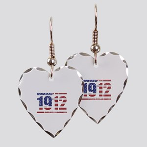 1912 Made In America Earring Heart Charm