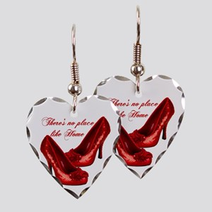 Wizard of Oz Red Ruby Slippers Earring