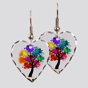 Different, not less! Earring Heart Charm