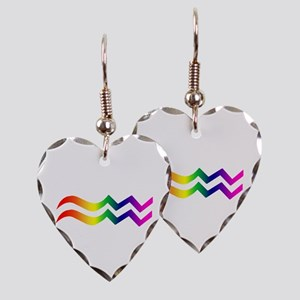 Aquarius Earring Heart Charm