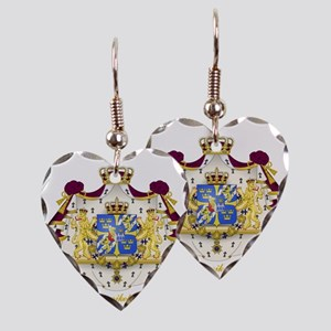 Swedish COA Earring Heart Charm