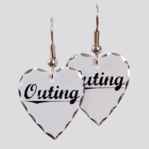 Outing, Vintage Earring Heart Charm
