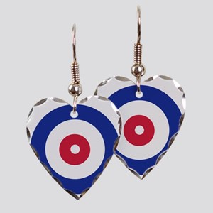 curling_circle Earring Heart Charm
