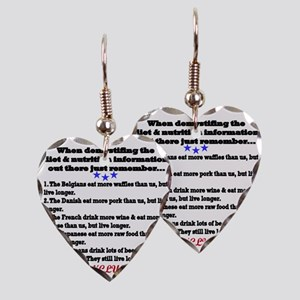 diet1 Earring Heart Charm