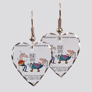 INNER FEELINGS by April McCall Earring Heart Charm