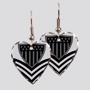 USCG-PO1-Pin-Subdued-X Earring Heart Charm