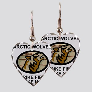 Army-172nd-Stryker-Bde-Arctic- Earring Heart Charm