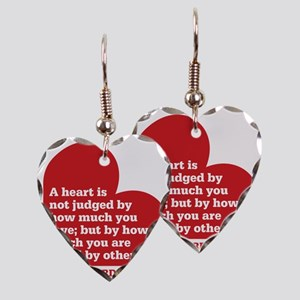 Wizard of Oz - Heart Judged Earring Heart Charm