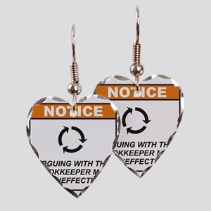 Bookkeeper_Notice_Argue_RK2011 Earring Heart Charm