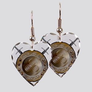 CP Shield_and_sword_Logo Earring Heart Charm