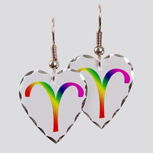 Aries Earring Heart Charm