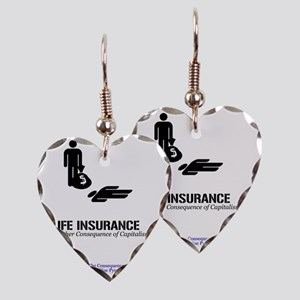 LifeInsMerch Earring Heart Charm