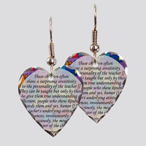 traits clock copy Earring Heart Charm